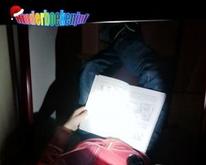 Lezen in het donker