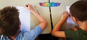 Schrijven met een schrijfster