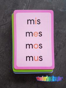 Letters en woordjes leren lezen