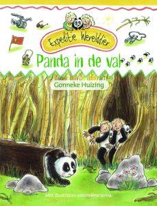 Panda in de val