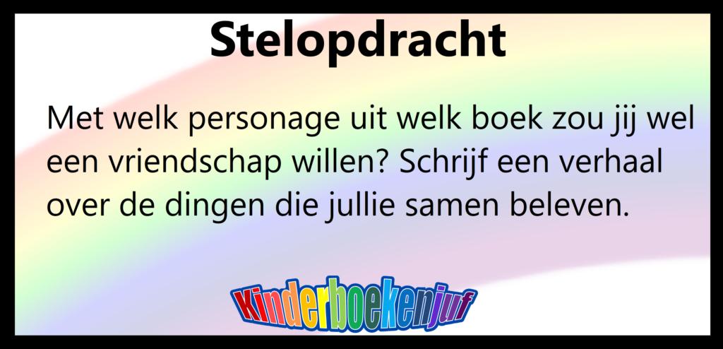 Populair Stelopdracht vriendschap personage uit een boek - Kinderboekenjuf.nl @JD54