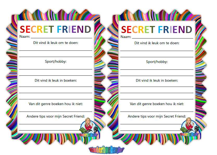 Secret (book)friend