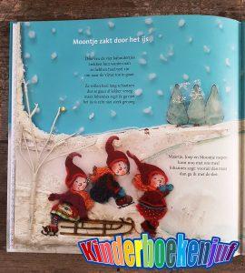 De vier kaboutertjes in de winter