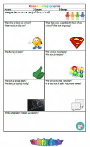 Kennismakingsgesprek superhelden