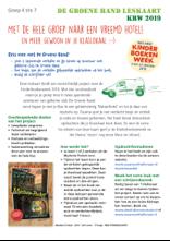 De Groene Hand leskaart