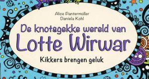 Header de knotsgekke wereld van Lotte Wirwar - Kikkers brengen geluk