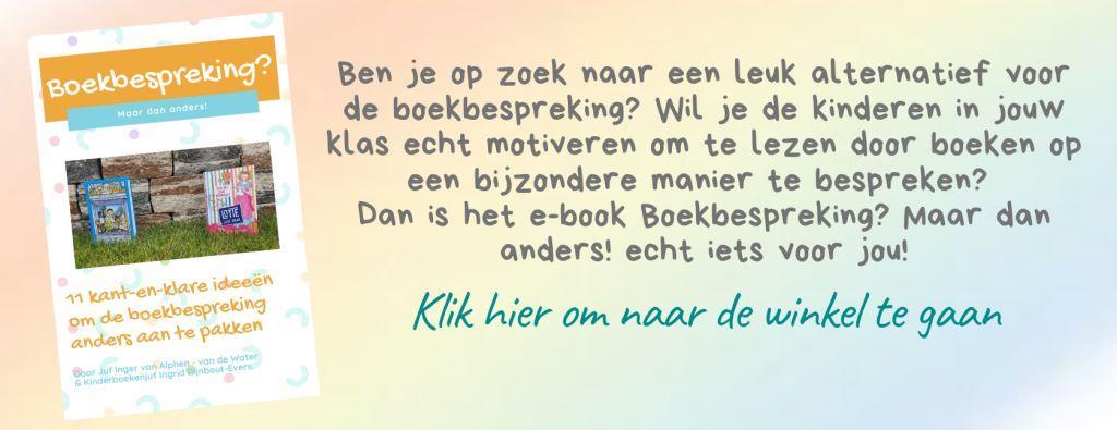 Reclame e-book Boekbespreking