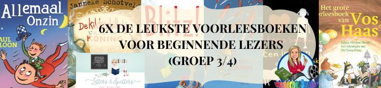 6x de leukste voorleesboeken voor beginnende lezers (groep 3/4)