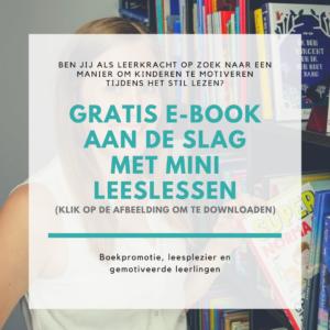 Gratis e-book Aan de slag met mini leeslessen