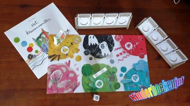 Het kleurenmonster bordspel
