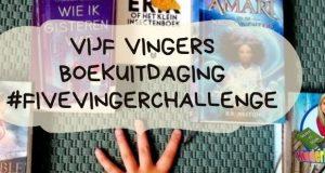 Vijf vingers boekuitdaging